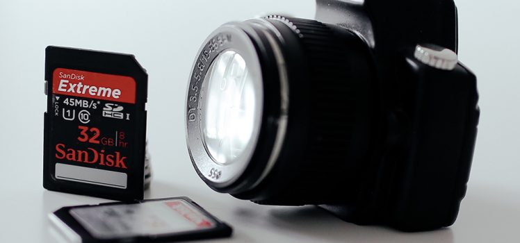 Como escolher o cartão de memória da sua câmera