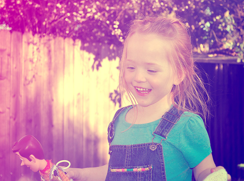 Efeito Cute para fotografias de Bebes no Photoshop