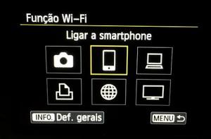 Como conectar sua Canon 70D no Wi-Fi