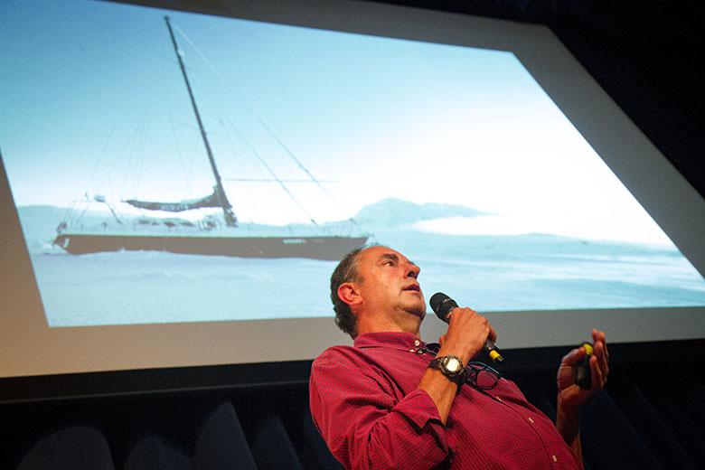 Exposição fotográfica e palestras com Amyr Klink em São Paulo