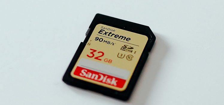 Dicas de cartões de memória para câmeras fotográficas
